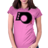 KUMAMOTO Japanese Prefecture Design Womens Fitted T-Shirt