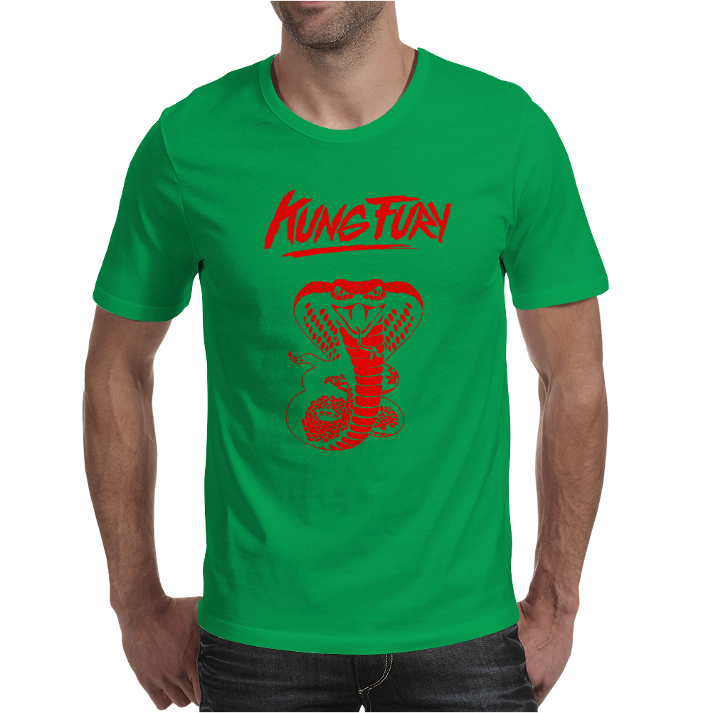 Kung Fury Mens T-Shirt