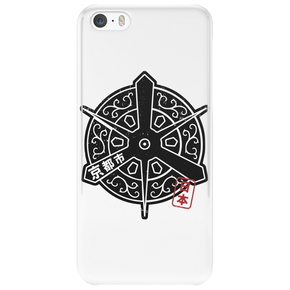 KYOTO City Japanese Municipality Design Phone Case