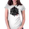 KYOTO City Japanese Municipality Design Womens Fitted T-Shirt