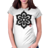 KYOTO Japanese Prefecture Design Womens Fitted T-Shirt