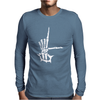L sign Mens Long Sleeve T-Shirt