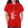 L sign Womens Polo