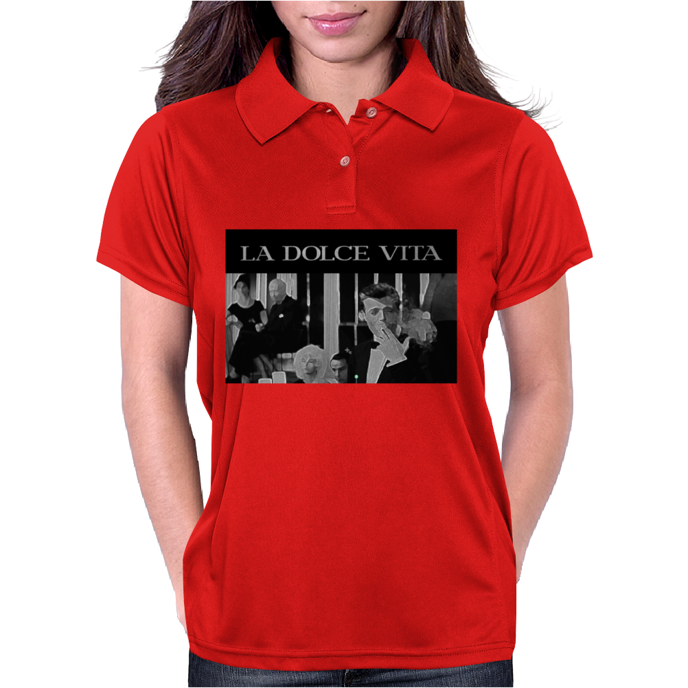 La Dolce Vita T-Shirt, Phone Case, Tablet Womens Polo