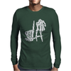 LA Skeleton Fingers Mens Long Sleeve T-Shirt