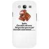 Ladies Chocolate will never call you fat! Chocolate understands! Phone Case