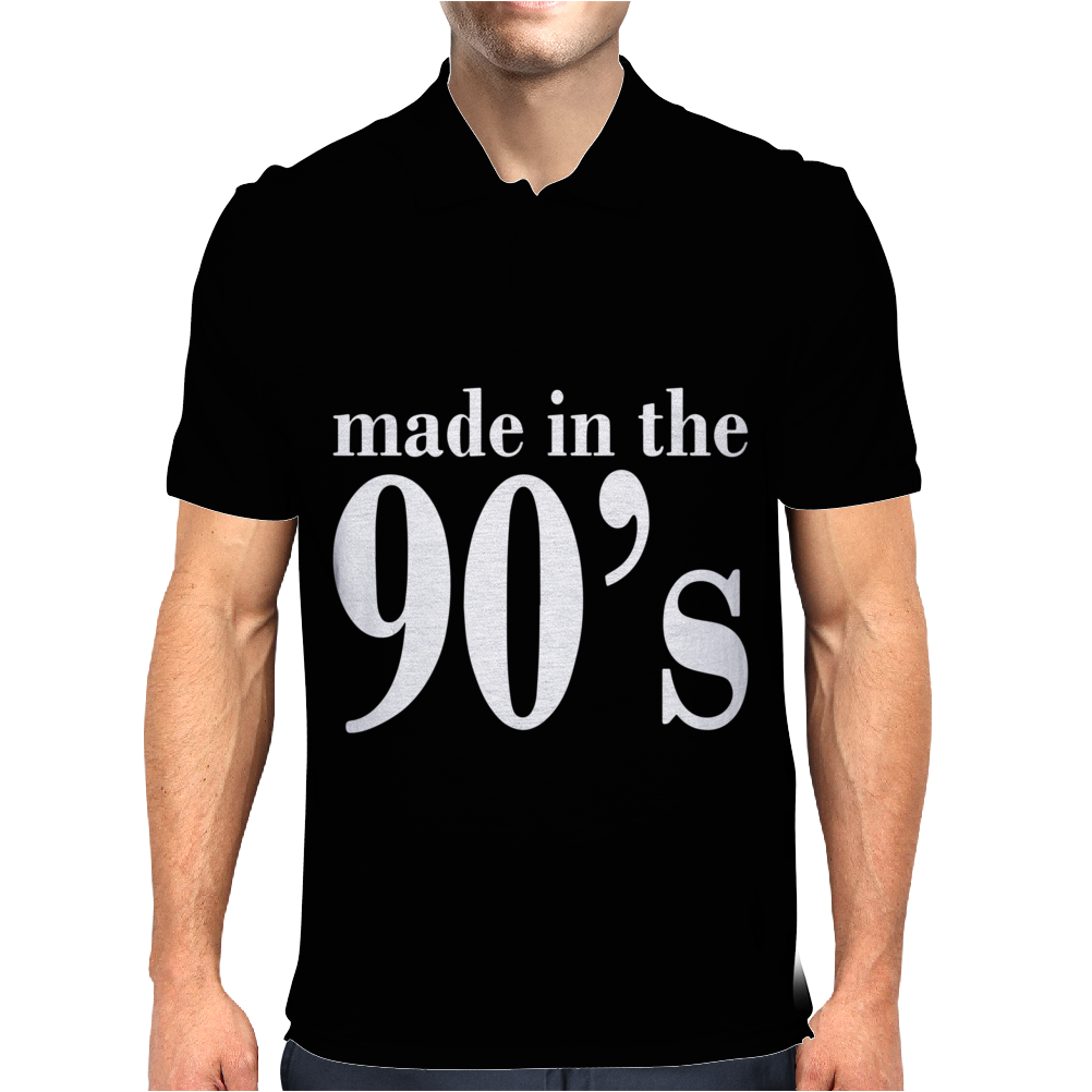 Ladies MADE IN THE 90s Mens Polo