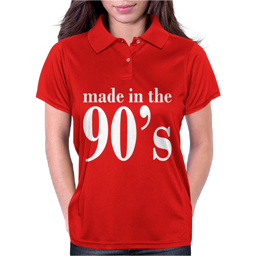 Ladies MADE IN THE 90s Womens Polo