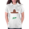 Ladies Sombrero  Funny retro Mexico Mustache designer Womens Polo