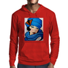 LADY IN BLUE Mens Hoodie