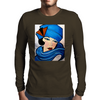 LADY IN BLUE Mens Long Sleeve T-Shirt