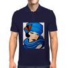 LADY IN BLUE Mens Polo
