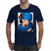 LADY IN BLUE Mens T-Shirt