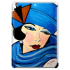 LADY IN BLUE Tablet (vertical)