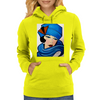 LADY IN BLUE Womens Hoodie