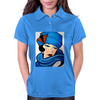 LADY IN BLUE Womens Polo