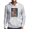 Lady in Red Mens Hoodie