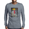Lady in Red Mens Long Sleeve T-Shirt