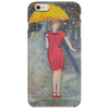 Lady in Red Phone Case