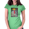 Lady in Red Womens Fitted T-Shirt