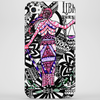 Lady Justice - Libra Astrological Sign Zentangle Art Phone Case