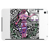 Lady Justice - Libra Astrological Sign Zentangle Art Tablet (horizontal)