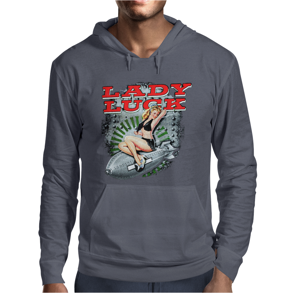 Lady Luckose Cone Mens Hoodie