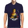 Lady With A Machine Gun Mens Polo