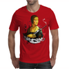 Lady With A Machine Gun Mens T-Shirt