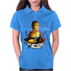 Lady With A Machine Gun Womens Polo