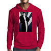 LADY WITH COAT Mens Hoodie