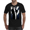 LADY WITH COAT Mens T-Shirt