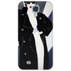 LADY WITH COAT Phone Case