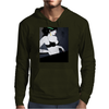 LADY WITH GREEN  BOW Mens Hoodie