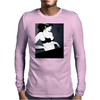 LADY WITH GREEN  BOW Mens Long Sleeve T-Shirt