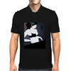 LADY WITH GREEN  BOW Mens Polo