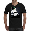 LADY WITH GREEN  BOW Mens T-Shirt