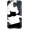 LADY WITH GREEN  BOW Phone Case