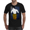 LADY WITH YELLOW AND BLACK  SKIRT Mens T-Shirt