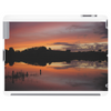 Lake summer sunset Tablet