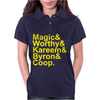 Lakers Showtime Team Womens Polo