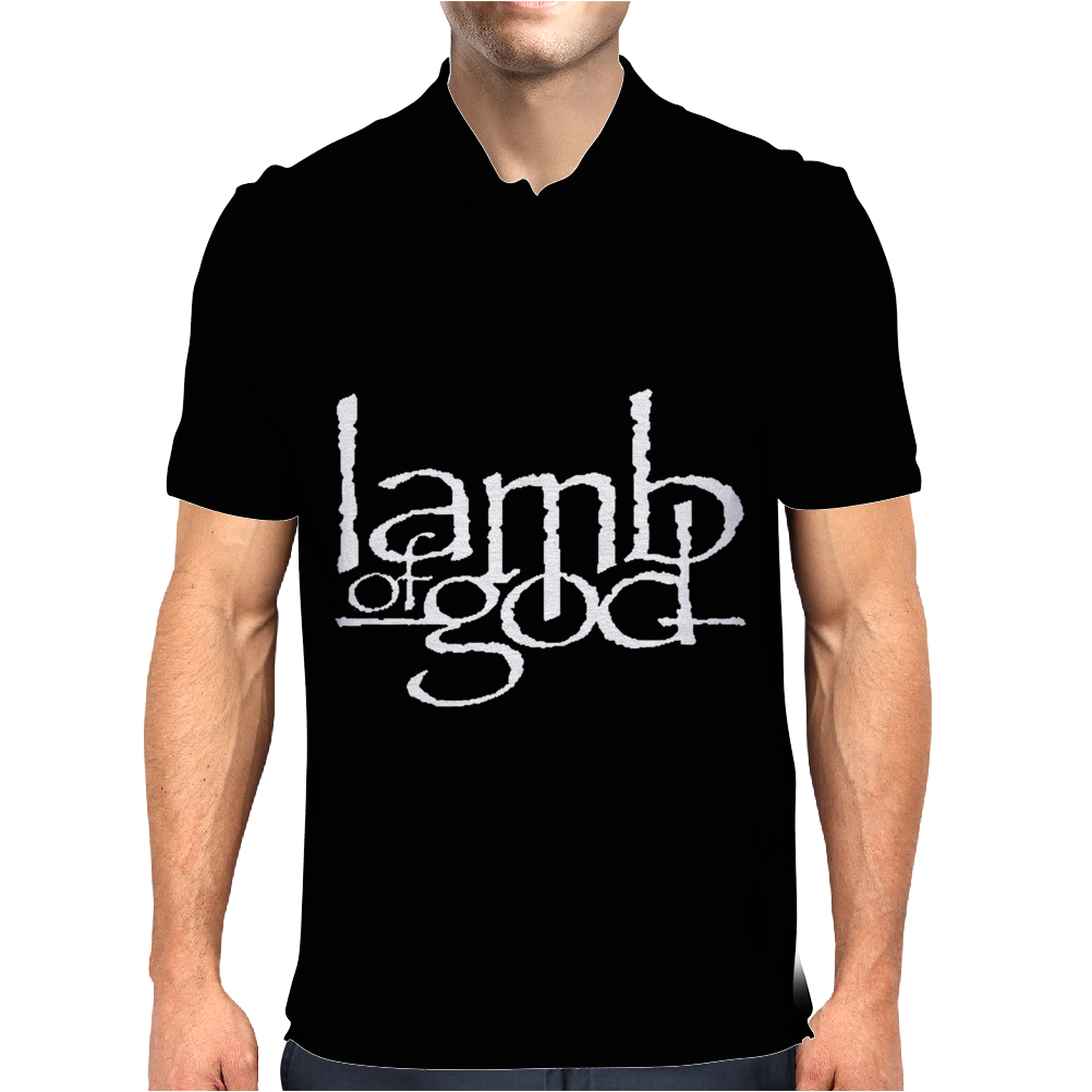 Lamb of God Mens Polo