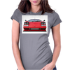 Lamborghini countach Womens Fitted T-Shirt