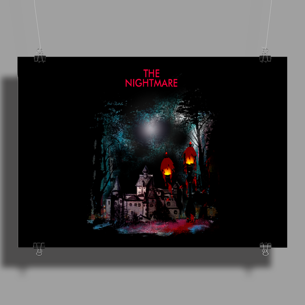 Lamp Nightmare Part 2 Poster Print (Landscape)