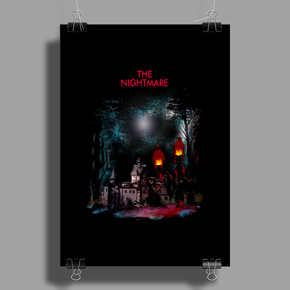 Lamp Nightmare Part 2 Poster Print (Portrait)
