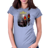 Lamp Nightmare Womens Fitted T-Shirt