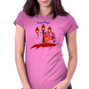 Lamp Womens Fitted T-Shirt