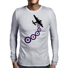 Lancaster Mod Mens Long Sleeve T-Shirt