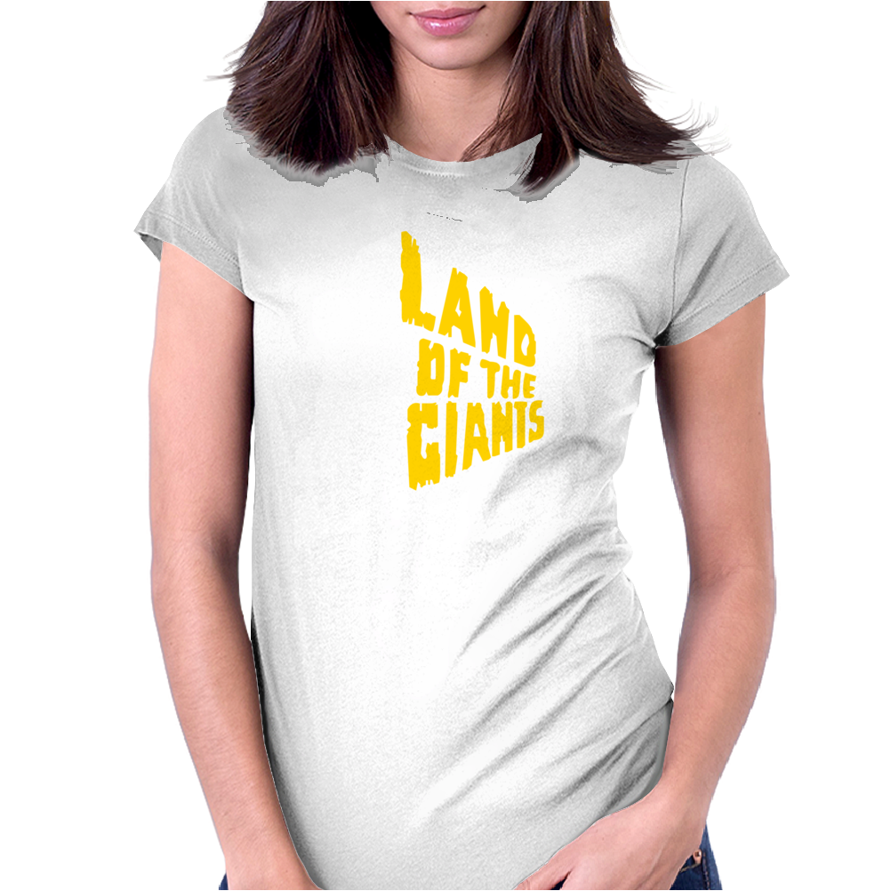 Land Of The Giants Science Fiction Womens Fitted T-Shirt