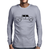 Land Rover Defender T130 Mens Long Sleeve T-Shirt